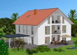 Hauser Mit 3 6 Kinderzimmer Bauen Mit Milow Bau